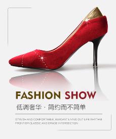 老北京布鞋时尚女鞋产品图